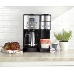 Cuisinart Coffee Center コーヒーメーカー 12カップ (SS-15P1) / COFFEE MKR BLK/SLV 12CUP