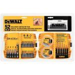 DEWALT マルチビットドリルドライバー52点セット (DW2178-5) / DRILL/DRIVR BIT SET 52PC