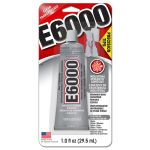 Eclectic Products  E6000接着剤/10オンス (231020) / GLUE W/TIPS E6000 1OZ
