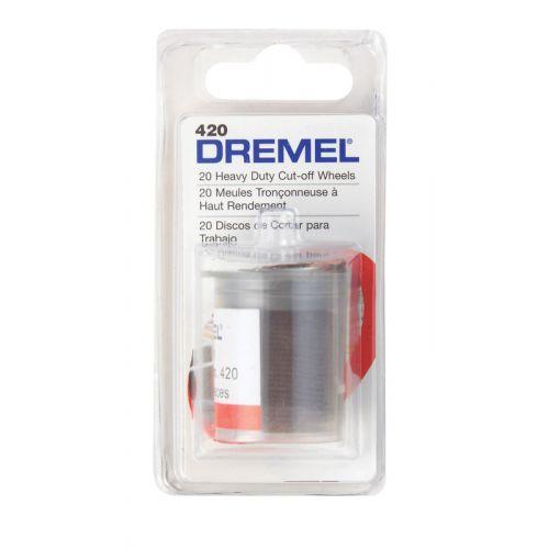 Dremel カットオフホイール(420) / WHEEL CUTOFF20PK DREMEL