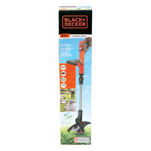 "Black+Decker  ストリングトリマー (LST522) / STRING TRIMMER 20V 12"""