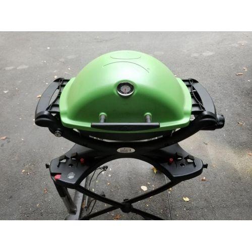 WEBER Q1200 LPガスグリル グリーン