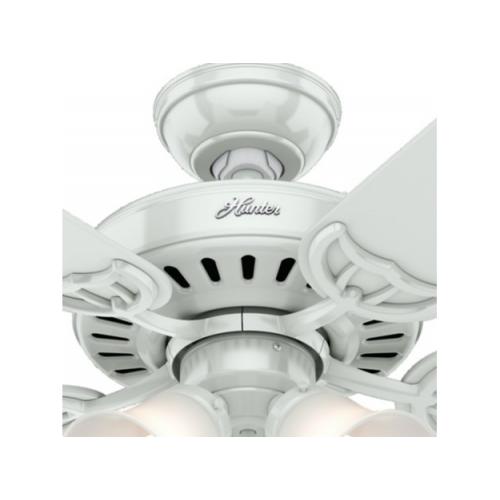Hunter Fan Studio  シーリングファン 52インチ ホワイト (53062) / FAN CEILING STUDIO WHITE