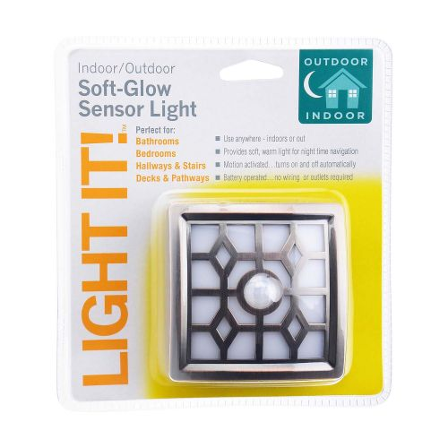 LIGHT IT モーションセンサーライト ブロンズ (30300-307) / SENSOR LIGHT SFT GLW BRZ