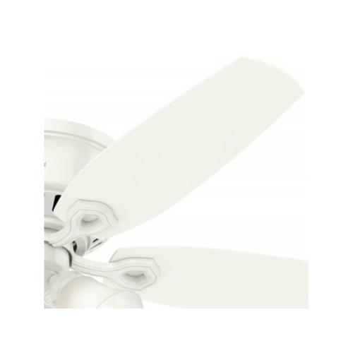"""Hunter Fan Builder Low Profile  シーリングファン 52インチ ホワイト (53326) / FAN BLDR LOW PRFLE 52""""WH"""