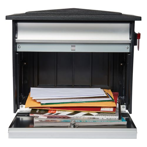 Gibraltar Mailboxes Mailsafe 壁取付式ロック付メールボックス (MSK) / MAILBOX LOCKING EX LRG
