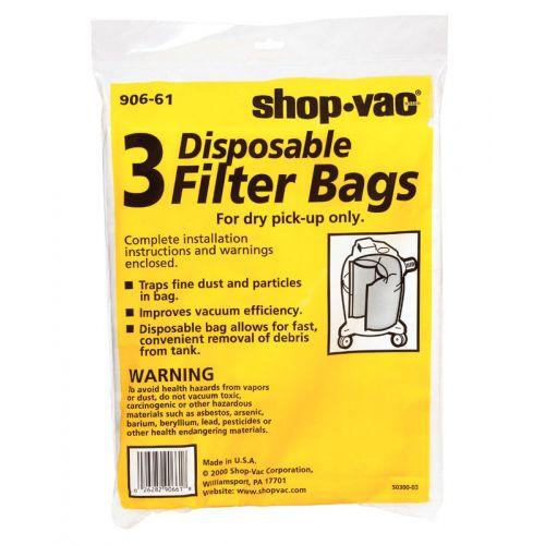 Shop-Vac 使い捨てフィルターバッグ
