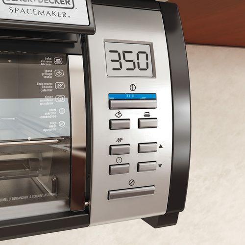 Black & Decker SpaceMaker 対流式トースターオーブン