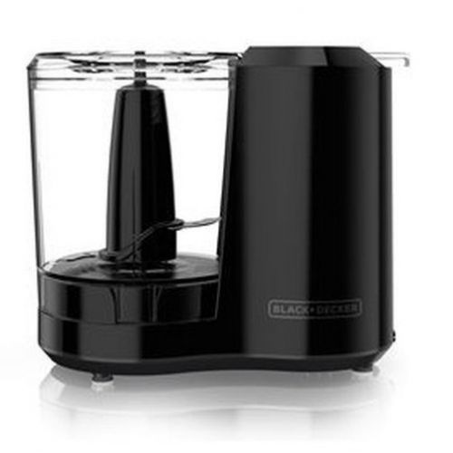 Black & Decker One-Touch フードチョッパー 3カップ (HC300B) / FOOD CHOPPER ELECT 3CUP