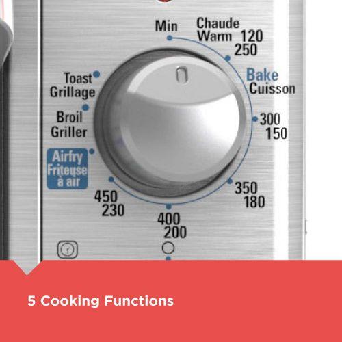 Black+Decker エアーフライテクノロジートースターオーブン