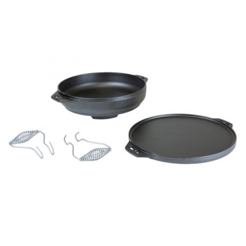 Lodge 鋳鉄製マルチパン (L14CIA) / COOK-IT-ALL CST IRN 6.8Q