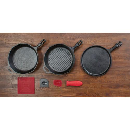 Lodge Essential 鋳鉄製調理パンセット (L6SPA41) / LODGE ESSENTIAL PAN SET