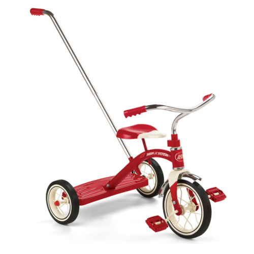 Radio Flyer プッシュハンドル付三輪車 (34T) / CLASSIC RED TRICYCLE