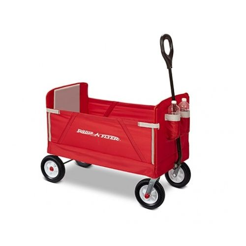 Radio Flyer Off-Road EZ Fold 折り畳みワゴン (3955A) / OFF-ROAD EZ FOLD WAGON