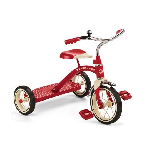 Radio Flyer 子供用三輪車 レッド (34B) / RF CLASSC RED TRICYCL10""