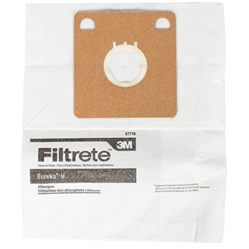 3M Filtrete バキュームバッグ スタイル V 3個入 ( 67716A-6)/  VAC BAG STYLE V 3PK