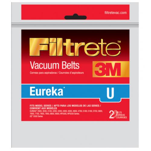 3M Filtrete 掃除機用バキュームベルト 2個入 ( 67312B) / VAC BELT EUREKA U 2PK