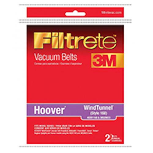 3M Filtrete バキュームベルト 2個入 (64160A) / VAC BELT HOOVER ELIT 2PK