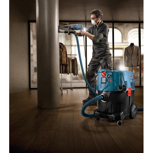 Bosch 自動フィルタークリーニング機能付集塵機