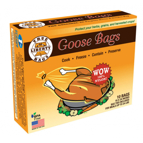 """True Liberty Bags Goose Bag 多目的ホーム&ガーデン用バッグ 10枚入 (G10) / HOME/GRDN BAG-GOOS18X24"""""""