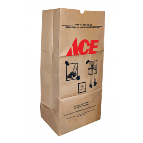 Ace 芝&落ち葉用バッグ 25個入 ( ACEH-25P) / LAWN & LEAF BAG 25PK