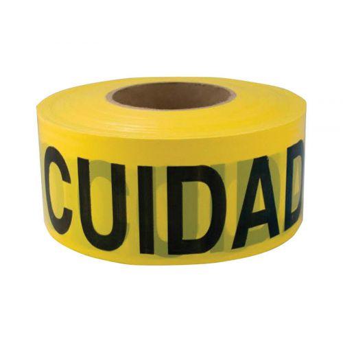 CH HANSON 英語/スペイン語表記バリケードテープ (16002) / TAPE BARACDE CUIDADO1000