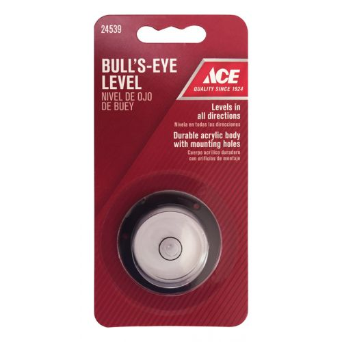 Ace 円形水平器 (24539) / LEVEL BULLSEYE 1-3/8IN ACE
