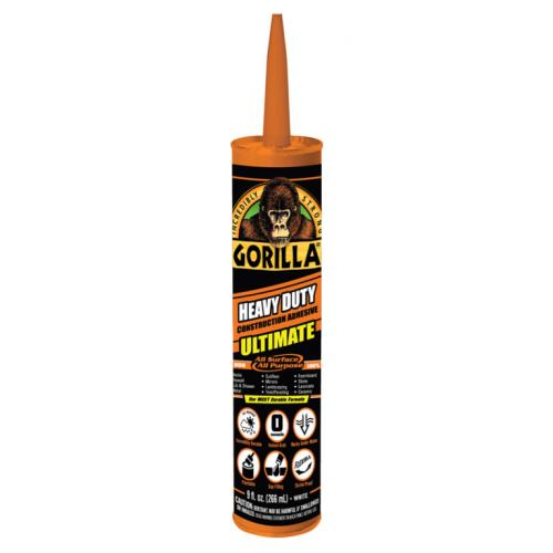 Gorilla 万能建築接着剤 12個セット (8008002) / GORILLA CONST ADHSV 9OZ