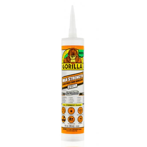 Gorilla Max Strength 建築用接着剤 12個セット (8212302) / MAX STRNG CONST ADHS 9OZ