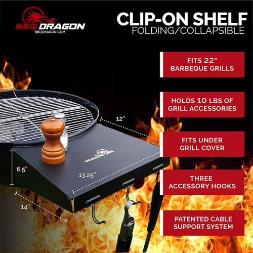 BBQ Dragon グリル用サイドテーブル