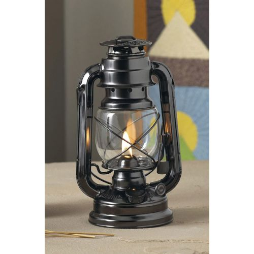 Lamplight Farms クリーンバーンオイルランプ 4個セット (52664) / FARMERS OIL LAMP 5OZ BLK