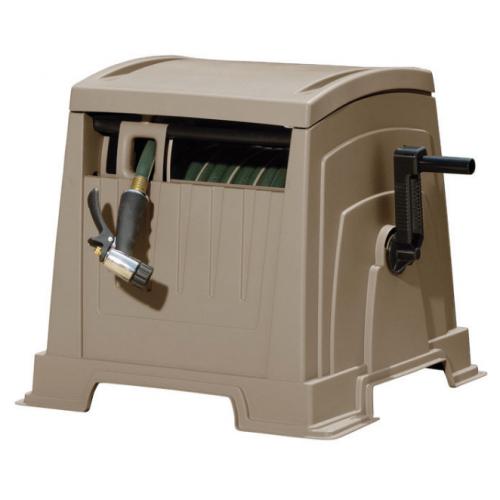 Suncast Slide Trak ホースガイド付ホースカート ( CPLWPT1652) / SLIDETRAK HOSE HIDEAWAY
