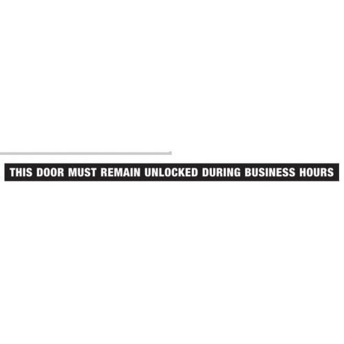 "Hillman 英字デカール ドアロック解除 (840205) 10枚セット / DECAL DOOR UNLCK 1.5X28"""
