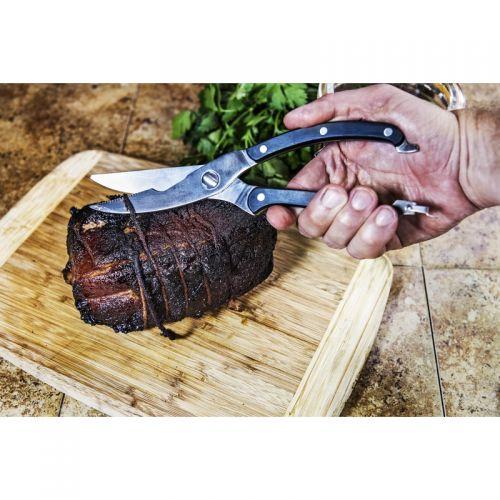 """Oklahoma Joes 肉バサミ ( 4567320R06) / MEAT SHEAR BLK/SLV 9.8""""L"""