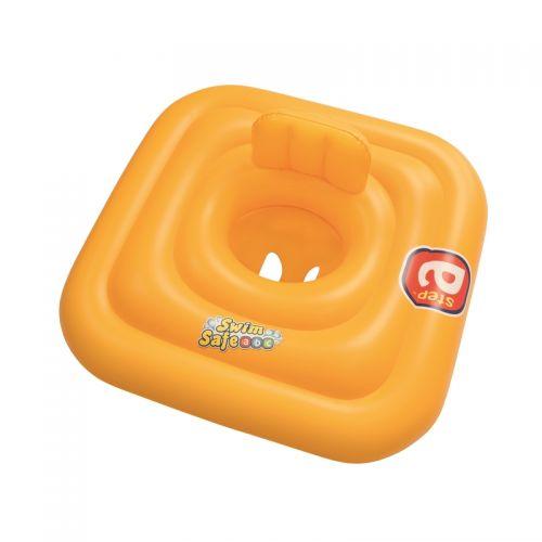 "Bestway Swim Safe ベイビーフロート オレンジ (32050E) / BABY FLOAT ORNG 30"""