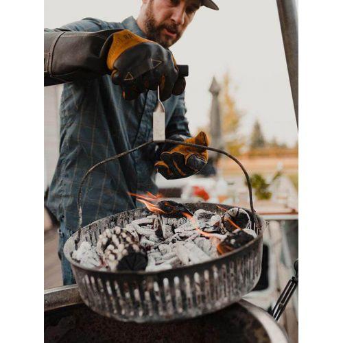 Burch Barrel Stockman グリル用グローブ (56232-3) / GRILLING GLOVE BLK/YLWBurch Barrel Stockman グリル用グローブ (56232-3) / GRILLING GLOVE BLK/YLW
