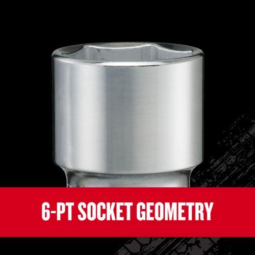 """Craftsman V-Series SAEソケット&ツール21点セット (CMMT45754V) / SCKT TL SET SAE 1/2""""21PC"""