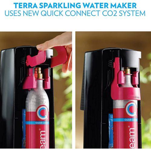 SodaStream スパークリングウォーターメーカー (1012811011) / TERRA MACHINE KIT BLACK