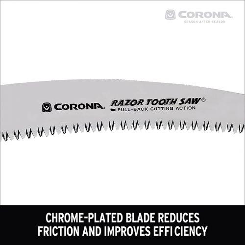 """Corona RazorTOOTH 剪定のこぎり (RS16020) / PRUNING SAW CURVD 14""""Corona RazorTOOTH 剪定のこぎり (RS16020) / PRUNING SAW CURVD 14"""""""