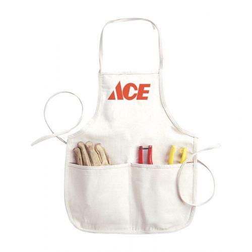 Ace ロゴ入りエプロン (C11ACE) / APRON CARPNTRBIB17X21.75