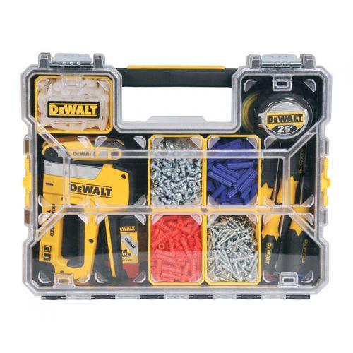 DEWALT   10セクション ツールボックスオーガナイザー (DWST14825) / ORGANIZER 10 SECTION DW