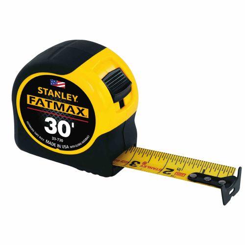 """Stanley メジャー 30フィート (33-730) / RULE TAPE 1-1/4""""X30' FAT"""