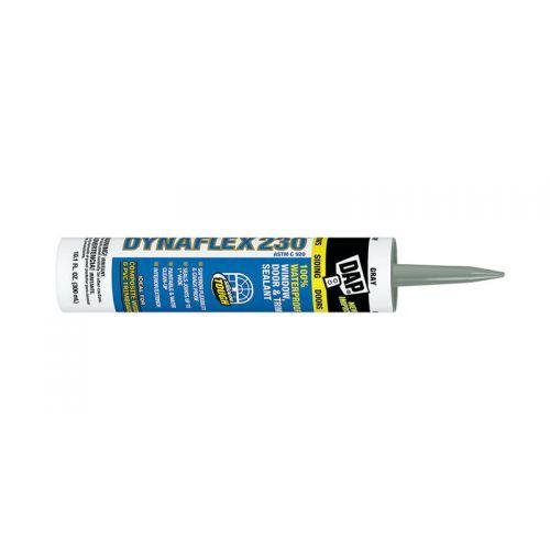 DAP Dynaflex 230  シーラント(密閉剤)グレー (18286)-12個パック / CAULK DFLEX230 GRY10.1OZ