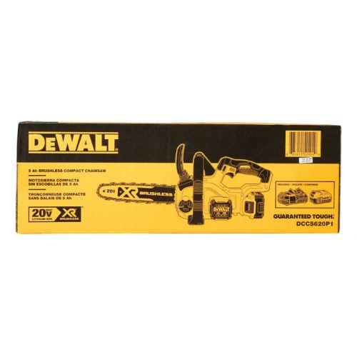 DeWalt  20V バッテリー式チェーンソー (DCCS620P1) / 20V CHAINSAW