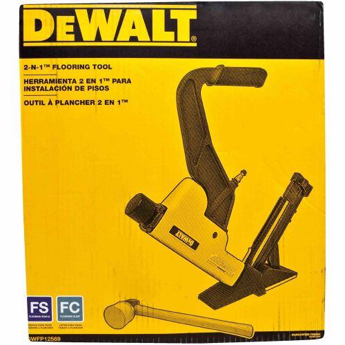 DeWalt 2イン1 フローリングネイラー/ステープラ