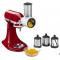 KitchenAid スタンドミキサー用スライサー&シュレッダーアタッチメント