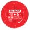 "Diablo カーバイドチップサーキュラーソーブレード 10インチ80歯 (D1080X) / BLADE SAW 10"" 80T FREUD"