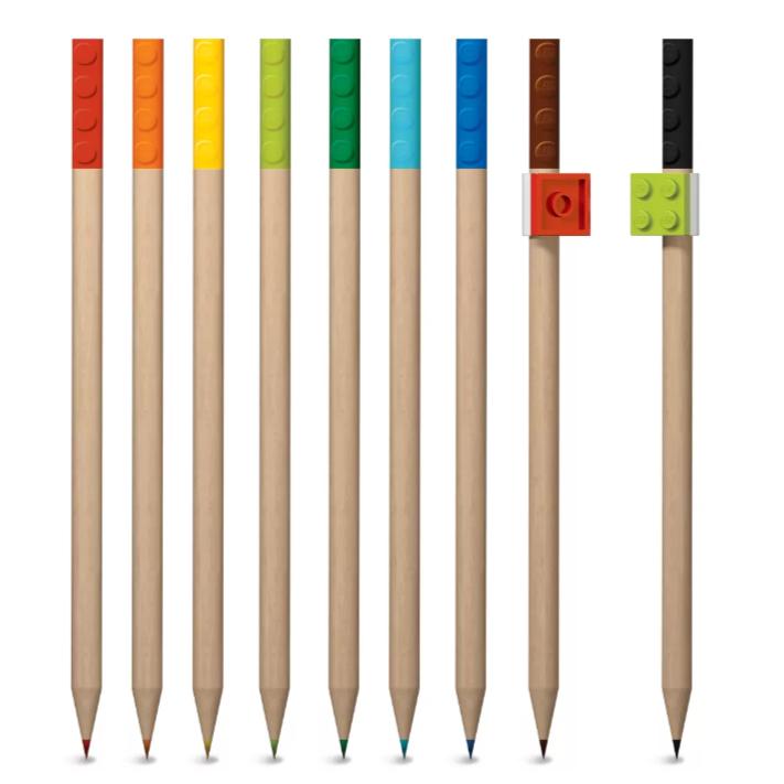 Lego 3 mm Colored Pencils 9 pk