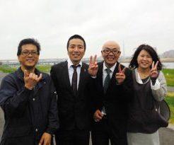 山田 芳照 NHK「マサカメ」hi-hiさん 番組ロケ