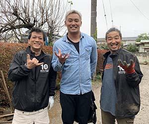 オカダカズチカさん 山田芳照